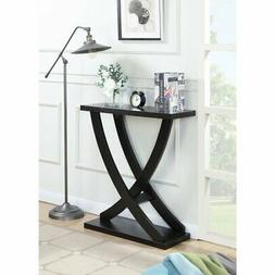 Convenience Concepts Newport Cross Step Console Table