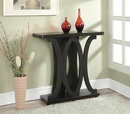 Convenience Concepts Newport Hailey Console Table, Espresso
