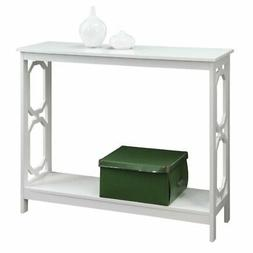 Convenience Concepts Omega Console Table White