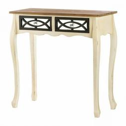 *ON SALE THRU 3/4: Charming Rustic Finish Console Table With