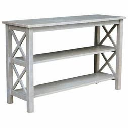 International Concepts OT09-70S Hampton Console Table, Washe