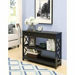 oxford 1 drawer console table multiple finishes