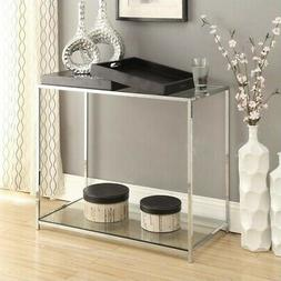 Convenience Concepts Palm Beach Console Table with Trays, Mu