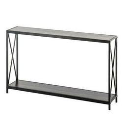 Narrow Console Sofa Table Tall Wall Side Table for Entryway