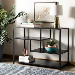 Safavieh Reese Geometric Console Table in Black