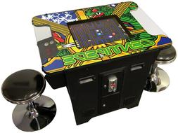 Retro Video Game Console Arcade Cocktail Table 60 Games with