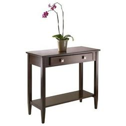 Winsome Richmond Console Hall Table with Tapered Legs