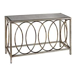 Sterling Industries 114-96 Rings Console Table with Mirrored