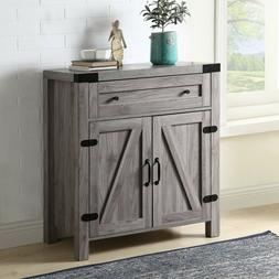 Rustic Console Table Vintage Side Table Retro Cupboard Drawe