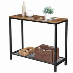 Rustic Entryway Table Console Furniture Industrial Accent So