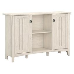Bush Furniture Salinas Storage Cabinet with Doors in Antique