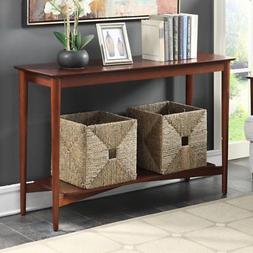 Convenience Concepts Savannah Console Table Mahogany
