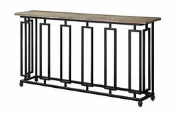 Coast To Coast Sherwood Console Table In Aged Brown 48168