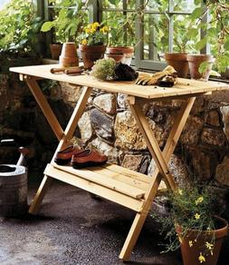 Merry Products Simple, Foldable, Portable Potting Bench / Co