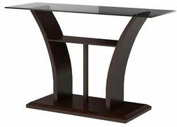 247SHOPATHOME IDF-4104S, Sofa Table, Cherry