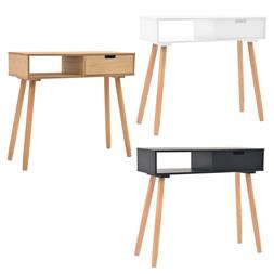 """Solid Pinewood Console Table 31.5"""" Telephone Side Stands Mul"""