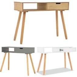 Solid Pinewood Console Table 80x30x72cm Telephone Stand End