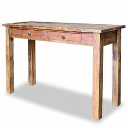 """Console Table Solid Reclaimed Wood 48.4""""x16.5""""x29.5"""""""