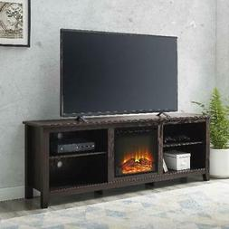 Electric Fireplace Traditional Console TV Stand for TVs up t