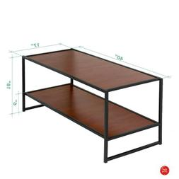 Tv Console Table 40 Inch Stand Dorm Media Room Bedroom Coffe