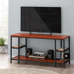 "LITTLE TREE TV Stand, 60"" Industrial Entertainment Center"
