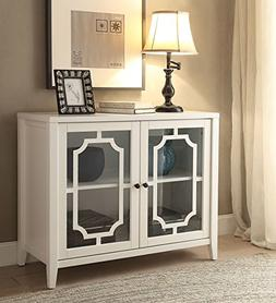 ComfortScape Two Door Wooden Console Table for Entryway with