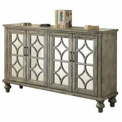 Acme Furniture ACME Velika Weathered Gray Console Table