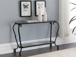 Kings Brand Furniture – Verona Metal With Glass Occasional