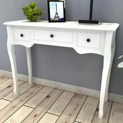 VidaXL Dressing <font><b>Table</b></font> <font><b>Console</