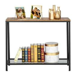 HODELY Console Table End Side Stand Table Hallway Entryway D