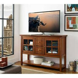 """Walker Edison 52"""" Wood Console Table Buffet TV Stand for TV'"""