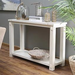 Westcott Console Table for Entryway Made of Popular Wood wit
