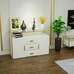 Buffet Sideboard Cupboard Storage Cabinet Console Table With