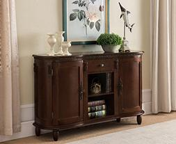 Kings Brand Furniture - Wood Buffet Server/Sideboard Console