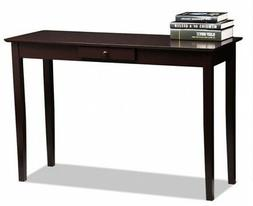 Wood Console Sofa Table Hall Two Drawer Living Room Entryway