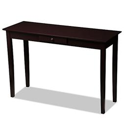 Yaheetech Wood Console Table Sofa Table with Drawer Entryway