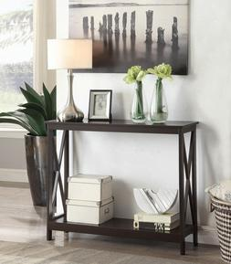 Wood Console Table Sofa Tables Accent Entryway Hall Foyer Es
