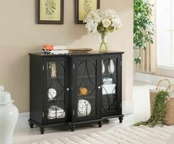 Kings Brand Furniture Wood Storage Sideboard Buffet Cabinet