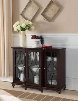 Kings Brand Furniture - Wood Storage Sideboard Buffet Cabine