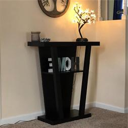 wooden console sofa entry table hall furniture