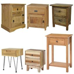 Wooden Nightstand Bedside Cabinet Console Table Telephone De